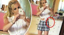Fans tease Britney Spears for 'photoshop fail'