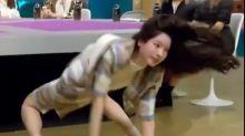 Que isso! Dahyun, estrela de K-pop, impressiona em movimento contorcionista