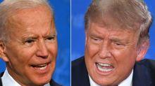 """Donald Trump traite Joe Biden de """"cinglé"""""""