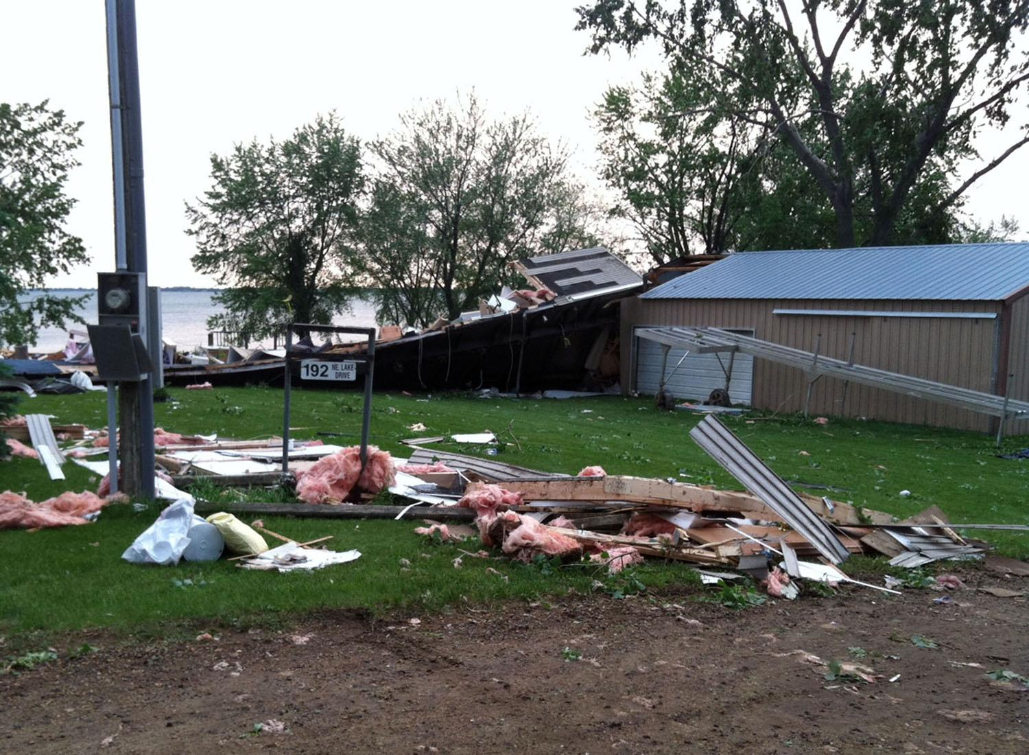 Woman killed in as storms move across South Dakota