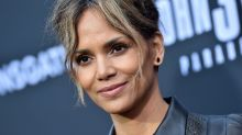 Halle Berry nails the lockdown pillow challenge