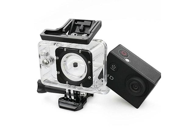 This $150 HD action cam bundle is only $40 today