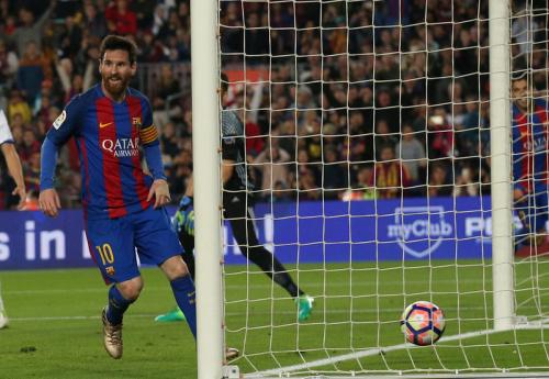 Messi sort le Barça du piège de la Sociedad