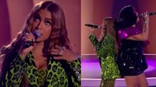 """Anitta canta música de Manu Gavassi, mas muda letra: """"Amor para muitos"""""""