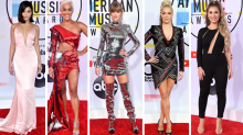 Taylor Swift leads 2018 American Music Awards red carpet arrivals