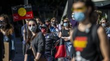 Hundreds protest at Qld Black Lives rally