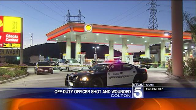 Off-Duty Corrections Officer Shot at Colton Gas Station