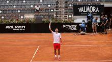 Djokovic vence a Koepfer y pasa a semifinal contra Ruud en Abierto de Tenis de Italia