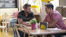 Neighbours' Aaron falls victim to a wicked plan