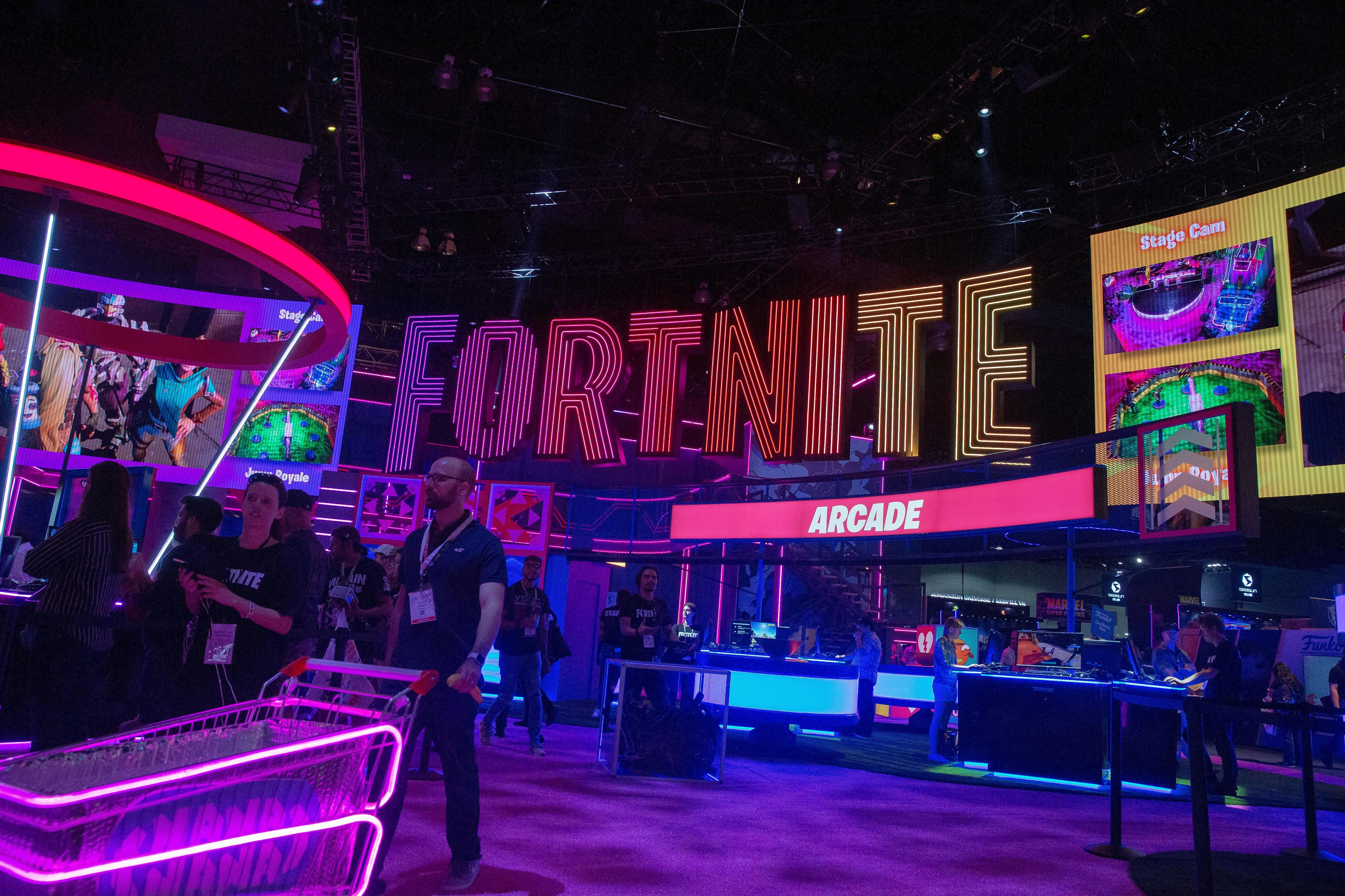 Bikini Royale Trailer fortnite' returns from blackout with 'chapter 2' trailer as