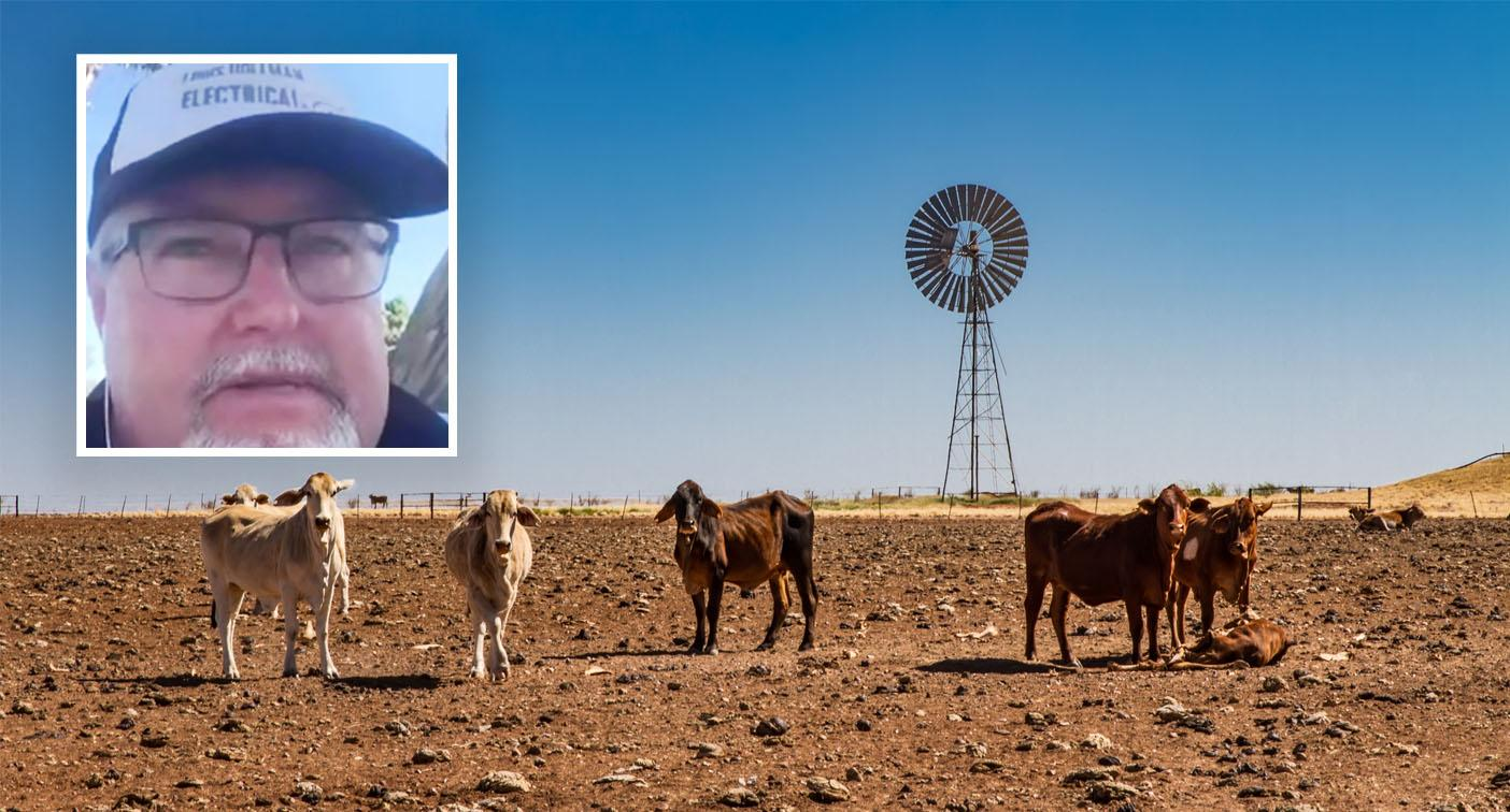 'It's hell out here': Dad destroyed by drought reveals details of call from PM