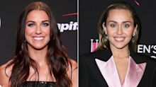 Miley Cyrus Praises Alex Morgan After USWNT Star Reveals Which Cyrus Song Is Her Pump-Up Jam