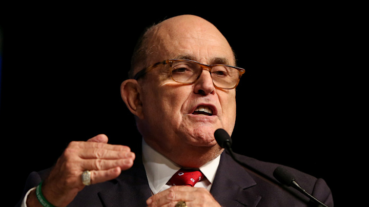 Iran's government will be overthrown, Giuliani says
