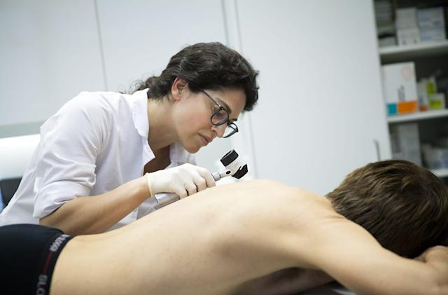 AI is nearly as good as humans at identifying skin cancer