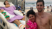 Man suffers horror spinal injury after swimming accident at work function