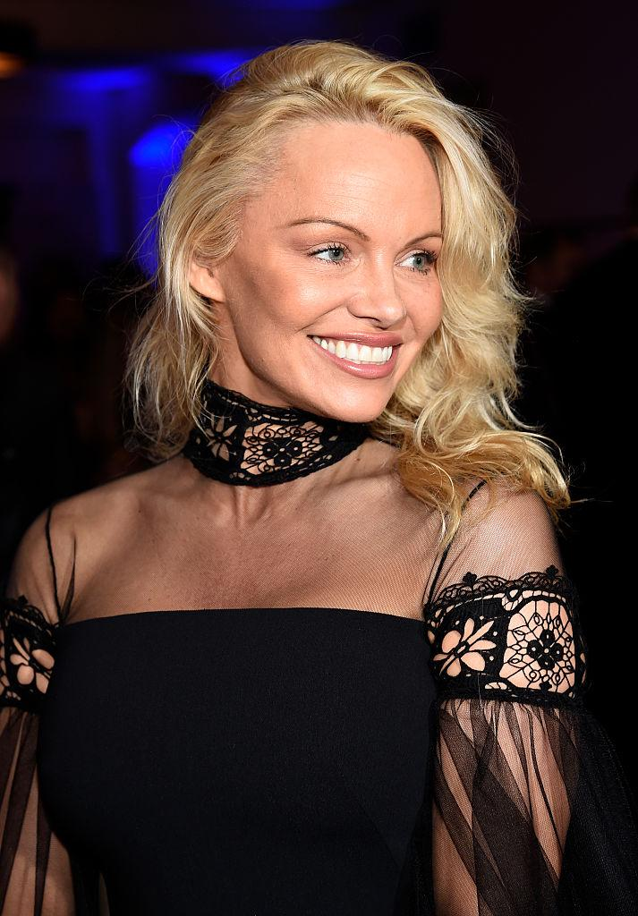 Pamela Anderson Wears Nothing But Straw for New Ad Pamela Anderson