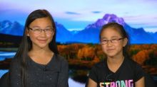 Science-loving sisters will work with NASA during total solar eclipse