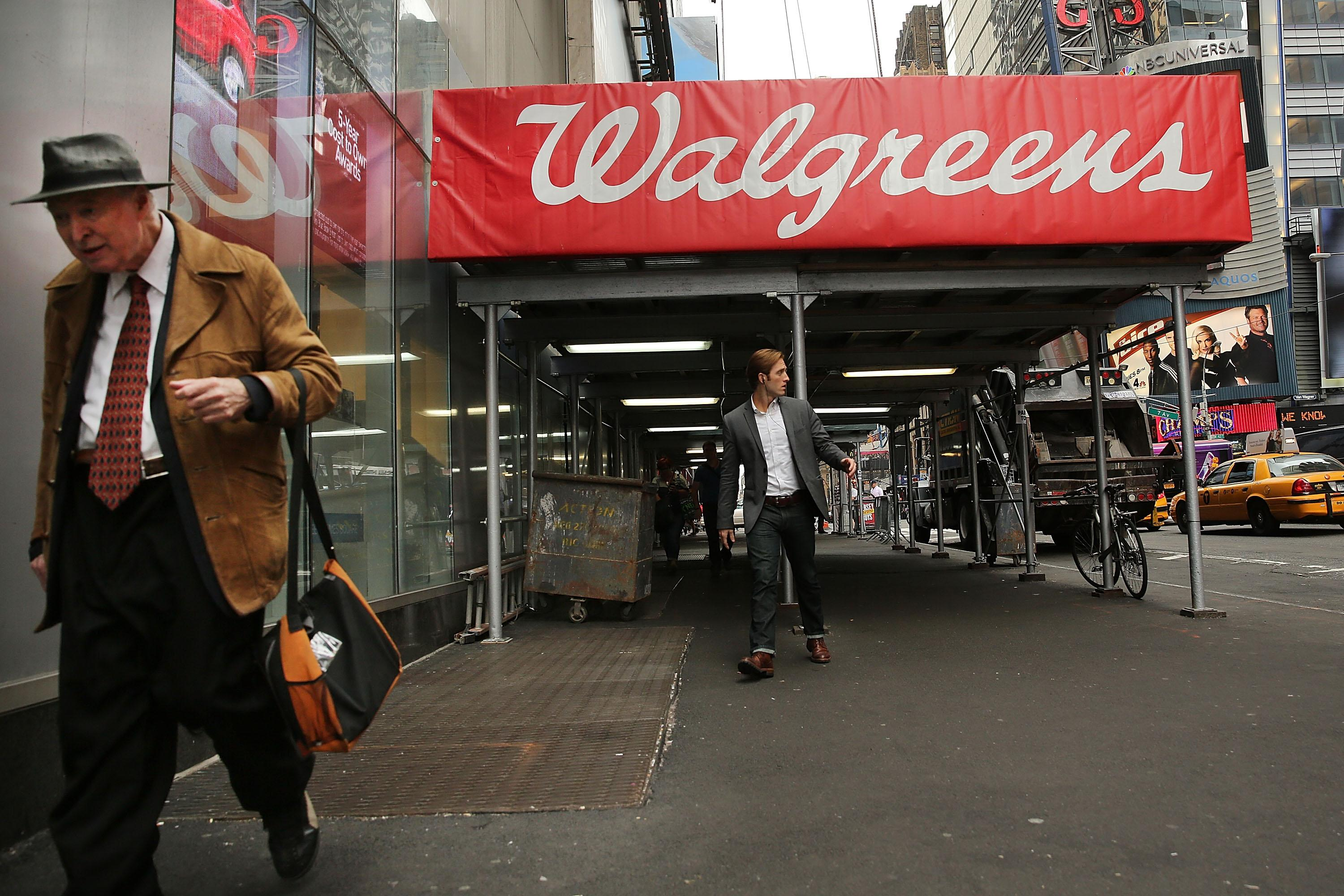 Markets Walgreens Stock Jumps After Selling More Pharmaceuticals