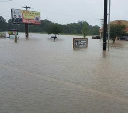 At least one dead, two injured as rains pound U.S. Gulf Coast