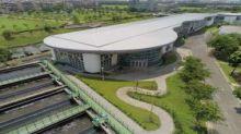 欣達環工攜手中鼎打造全國首座大型再生水廠榮獲「金擘奬」