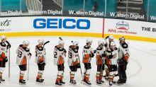 NHL roundup: Anthony Stolarz's 46 saves help Ducks dump Sharks