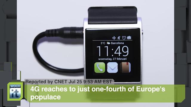 Electronic Engineering News Byte: 4G Reaches to Just One-fourth of Europe's Populace