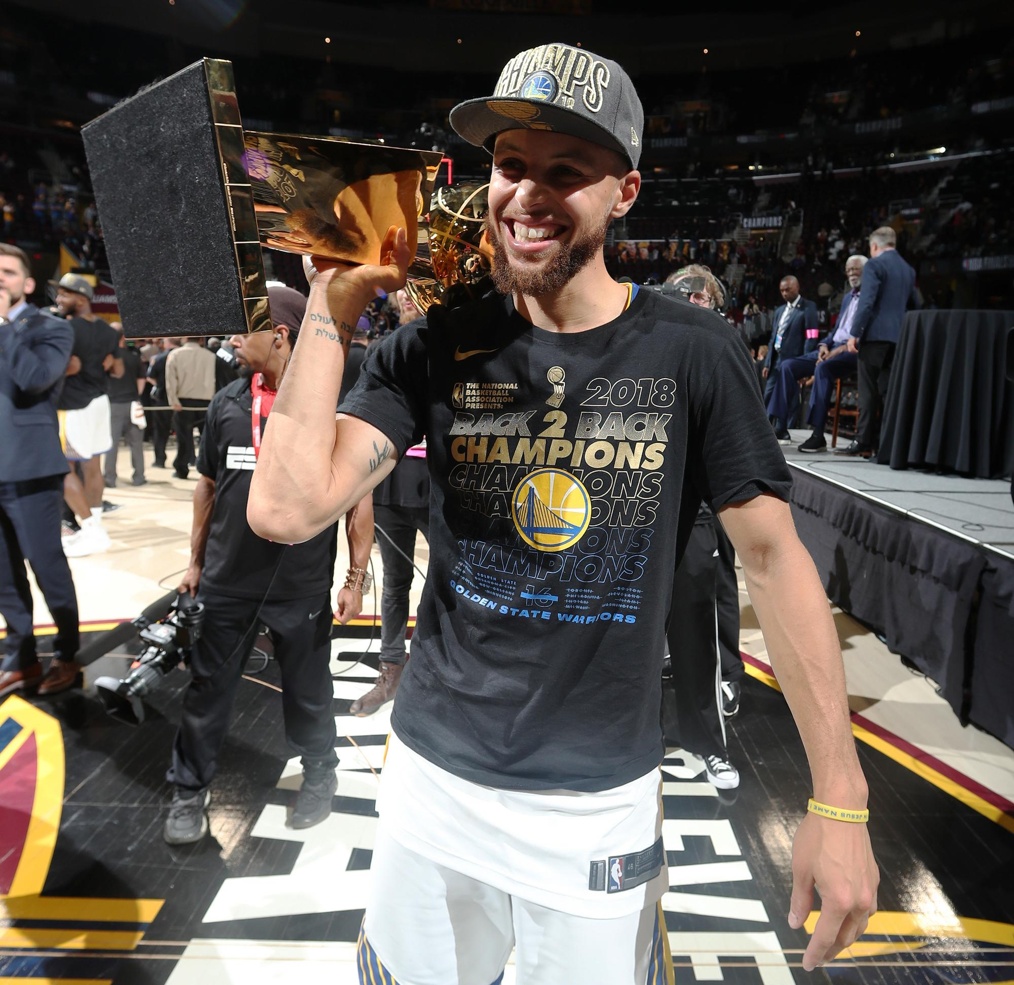 NBA Finals: Stephen Curry's Legend Grows With Third Title
