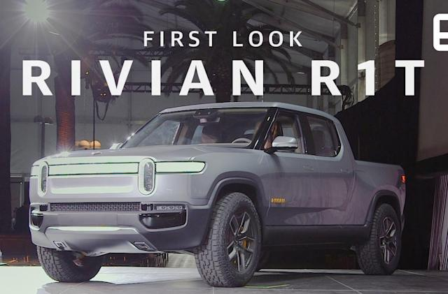 Up close with Rivian's R1T electric adventure truck