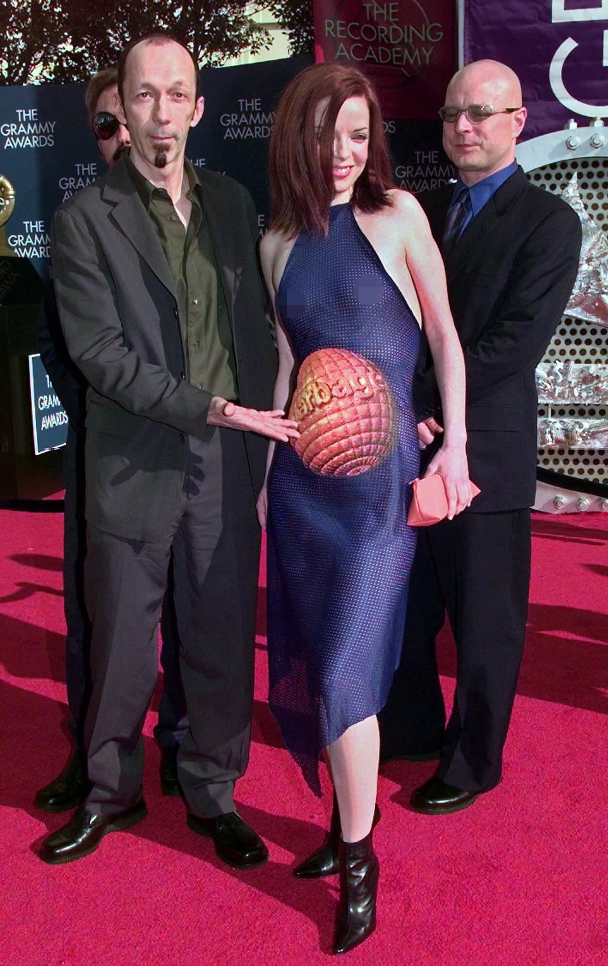 Duke Erikson and Shirley Manson
