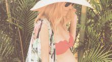 Pregnant Lauren Conrad Introduces Her Beach Collection in a Bikini