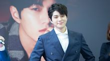 PHOTOS: INFINITE's Kim Myung-soo at press conference and fan-meeting in Singapore