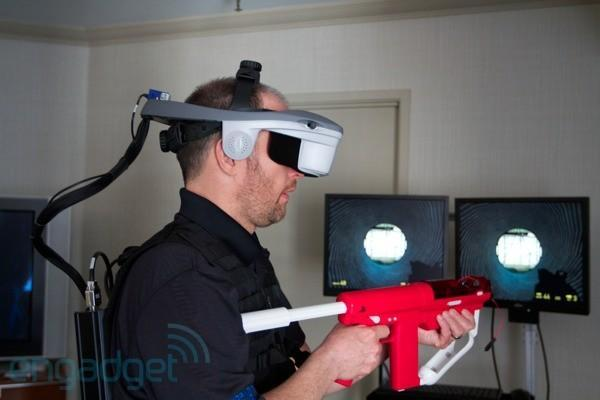 Forth Dimension's second Replicating Reality concept stuffs Half-Life 2 into a virtual reality headset (video)