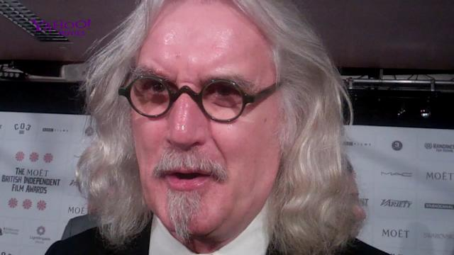 - Billy Connolly reveals working with screen legends wasn't as scary as he thought