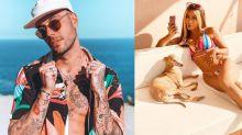 Gui Araújo aposta em cachorro para voltar com Anitta