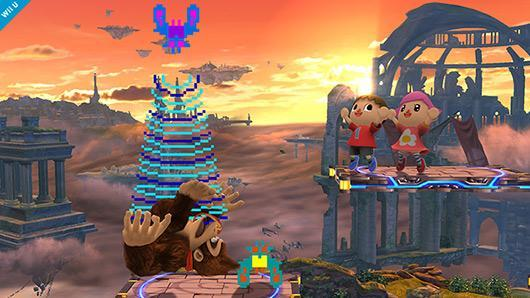 Galaga star makes Super Smash Bros. cameo