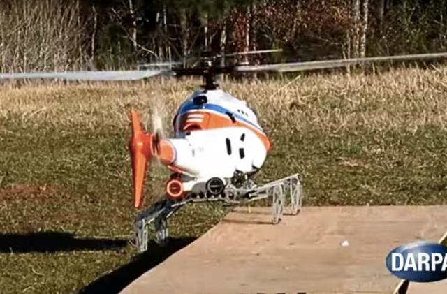 DARPA gives an R/C chopper the legs of a dragonfly