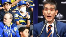 'It's absurd': Medical boss slams 'dangerous' NRL crowd plans