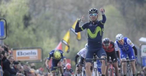 Cyclisme - Flèche Wallonne - Alejandro Valverde remporte la Flèche Wallonne pour la cinquième fois