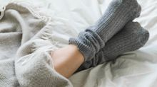 Socks coated in zinc oxide could ward off smelly feet, study suggests