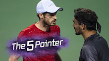 The Five Pointer: Andy Murray confronts Fabio Fognini on-court