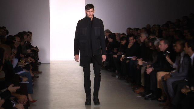 Style.com Fashion Shows - Calvin Klein Collection: Fall 2013 Menswear