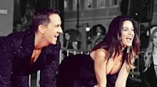 Shirtless Jeremy Scott is First Fashion Designer to Earn Hollywood Handprints