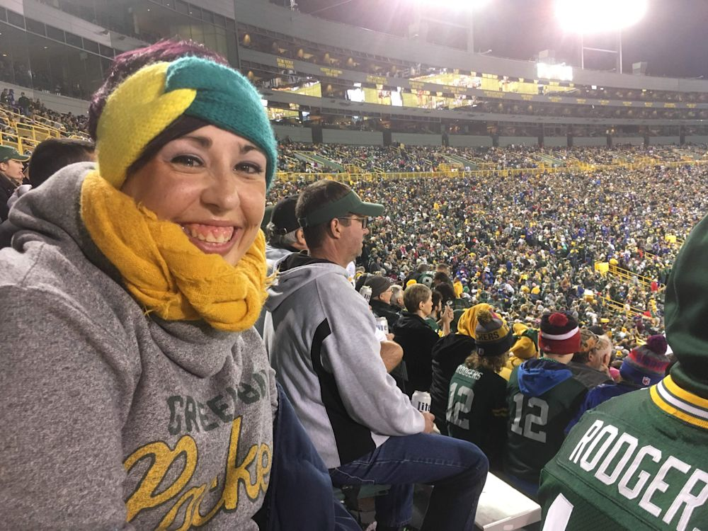 Molly Jasinski, 29, from West Allis, Wisconsin. (Special to Yahoo Sports)