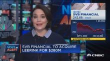 SVB Financial to acquire Leerink