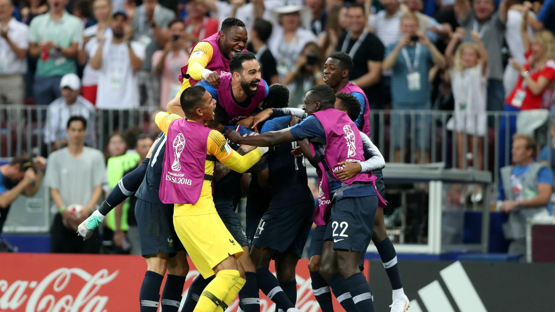 FIFA rankings: France number one, Croatia and England soar, Germany and Argentina plummet