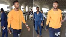 Hardik Pandya Makes First Public Appearance Since 'Koffee' Fiasco