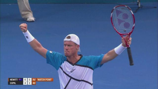 Nishikori and Hewitt set up semi-final in Brisbane