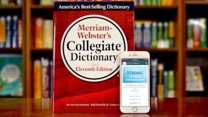Merriam-Webster's 2018 word of the year is …