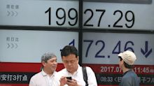 Asian shares mostly lower as attention turns to Fed meeting