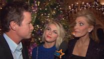 Julianne Hough And Shawn King Get Into The Holiday Spirit